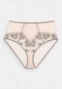 Playful Promises - FLORAL EMBROIDERED BRIEF - Briefs - black/peach - 1