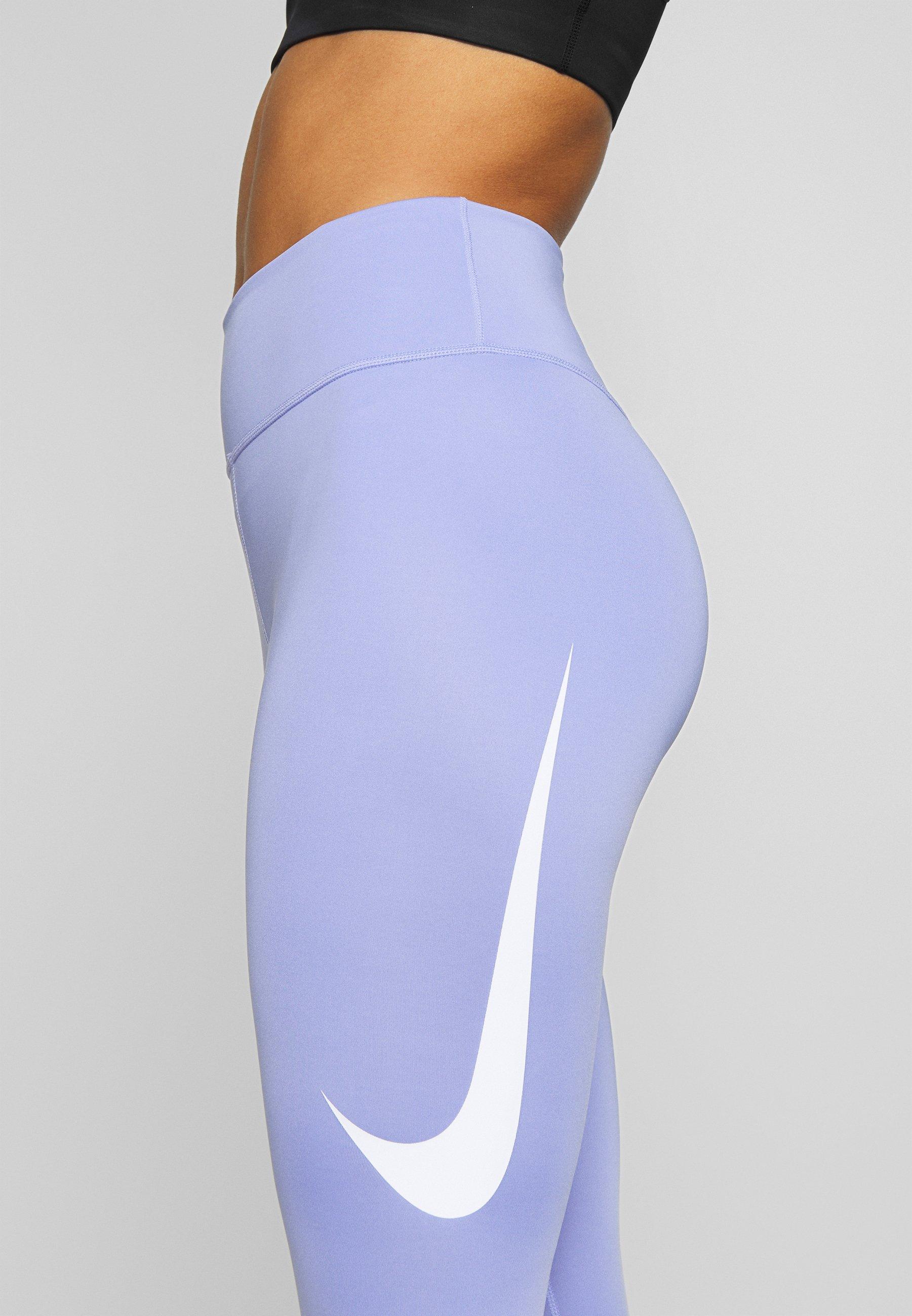 Nike Performance SWOOSH-RUNNING TIGHT  - Leggings - light thistle FdHgd