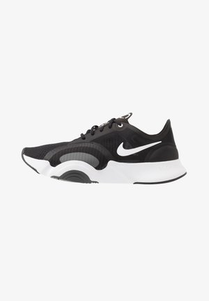 SUPERREP GO - Sports shoes - black/white/dark smoke grey