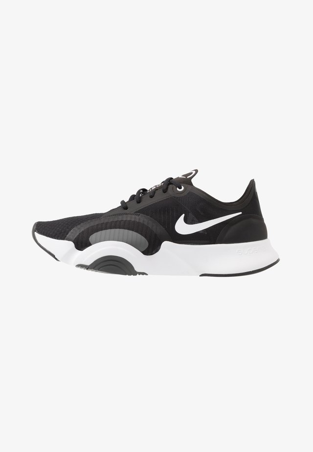 SUPERREP GO - Scarpe da fitness - black/white/dark smoke grey