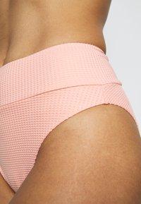 aerie - HI CUT CHEEKY WAFFLE - Bikini bottoms - beach peach - 4