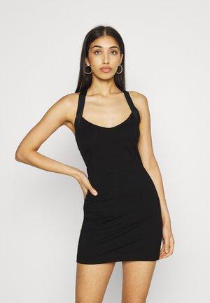 ELA - Jersey dress - schwarz