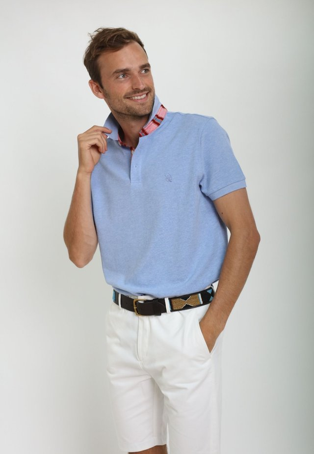 GUSII - Polo shirt - light blue
