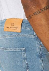 Scotch & Soda - SKIM - Jeans Skinny Fit - blauw trace - 3