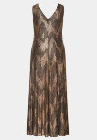 Ulla Popken - Maxi dress - gold multi - 2
