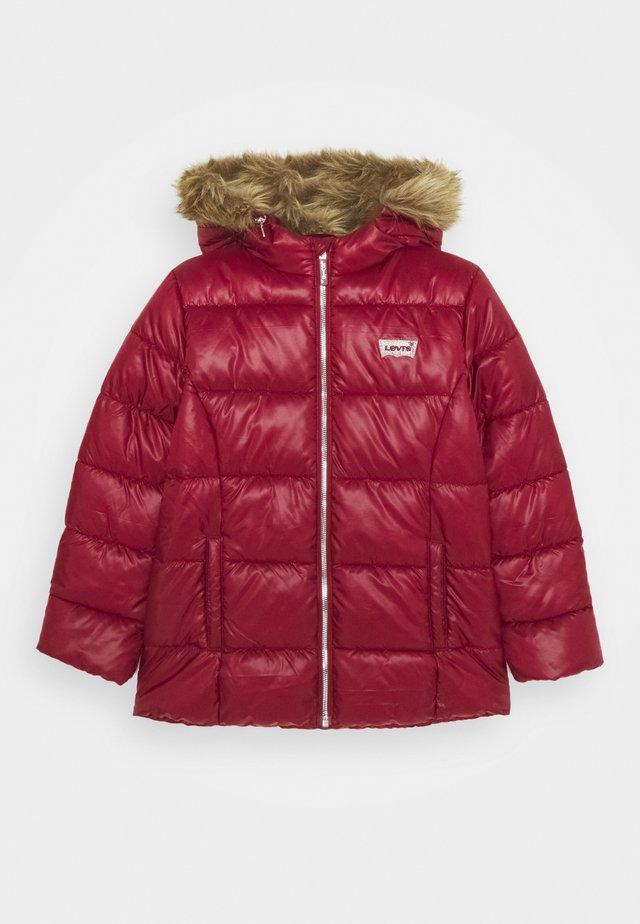 PUFFER - Winter jacket - cabernet