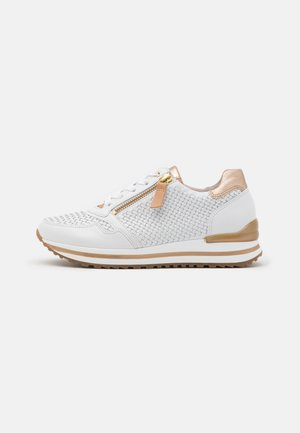 Trainers - weiß/champagne/natur