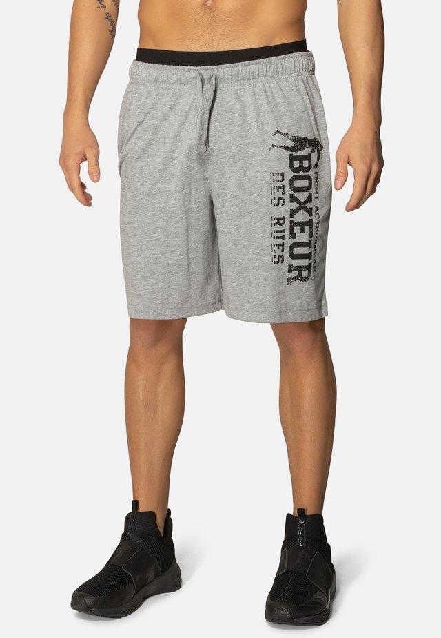 Pantaloncini sportivi - grey mel