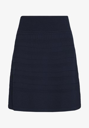 SHANAHAN - A-line skirt - open blue