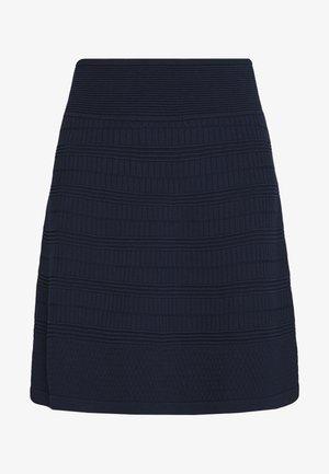 SHANAHAN - Áčková sukně - open blue