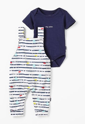 DUNGAREE ROMPER RIFLE BABY ZGREEN - Body - patriot blue
