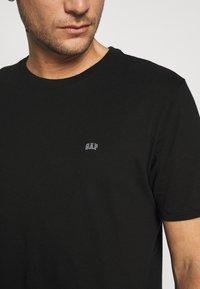 GAP - CREW 2 PACK - T-shirt basic - black - 6