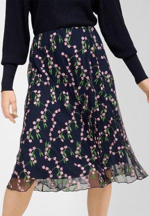 A-line skirt - nachtblau
