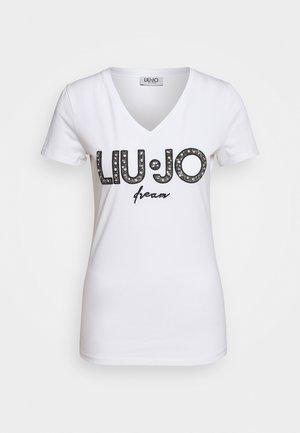 MODA  - T-shirts med print - bianco ottico