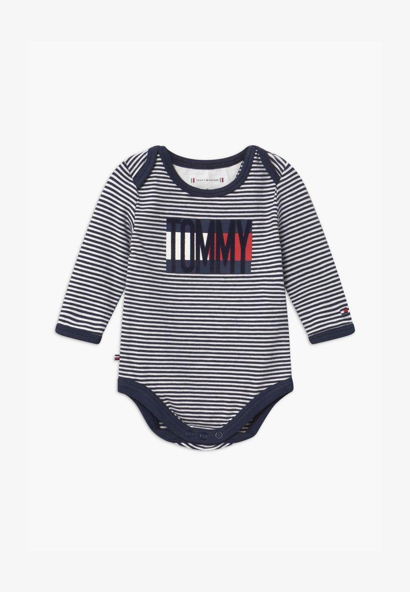 Tommy Hilfiger - BABY STRIPE - Body - blue