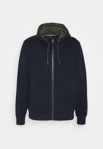 LANGARM - Zip-up sweatshirt - dark blue