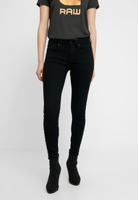 G-Star - ARC 3D MID SKINNY  - Jeans Skinny Fit - pitch black - 0