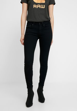 ARC 3D MID SKINNY  - Jeans Skinny - pitch black