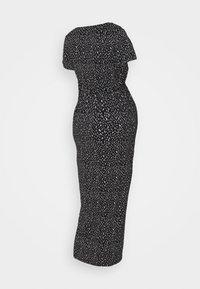 Supermom - DRESS PEBBLES - Maxi šaty - black - 1