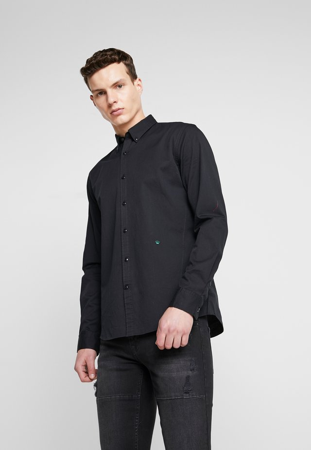 POCKET PRINT SHIRT - Overhemd - black