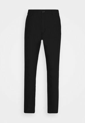FRANKIE REGULAR TROUSERS - Trousers - black