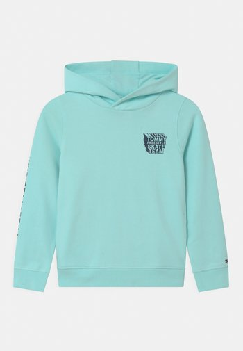 COOL GRAPHIC HOODIE - Sweater - frost blue