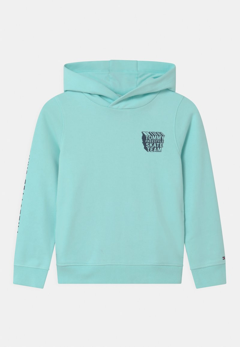 Tommy Hilfiger - COOL GRAPHIC HOODIE - Sweater - frost blue