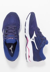 Mizuno - WAVE STREAM 2 - Scarpe running neutre - astral aura/white/blueprint - 1