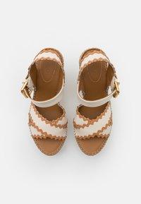 See by Chloé - GLYN - Korkeakorkoiset sandaalit - natural - 4