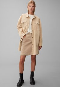 Marc O'Polo - Short coat - vintage stone - 1