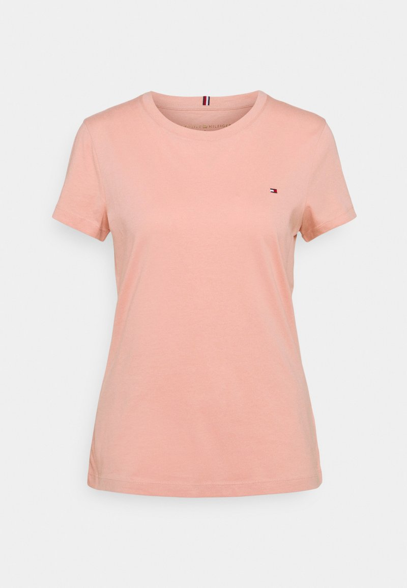 Tommy Hilfiger - NEW CREW NECK TEE - T-shirt basic - soothing pink