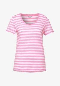 Street One - IM STREIFEN - Print T-shirt - rosa - 3