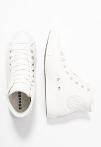 Converse - CHUCK TAYLOR ALL STAR SEASONAL - High-top trainers - vintage white - 3