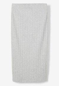 LMTD - Pencil skirt - light grey melange - 1