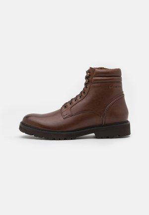 ROLF - Lace-up ankle boots - dark brown