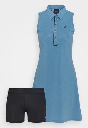 TRINITY DRESS - Sports dress - dark haze