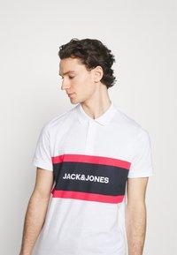 Jack & Jones - JJSHAKE - Polo shirt - white - 3