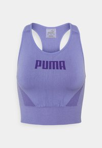 Puma - EVOSTRIPE BRA - Light support sports bra - hazy blue - 5