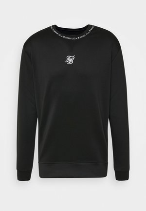 ILLUSION CREW - Long sleeved top - black