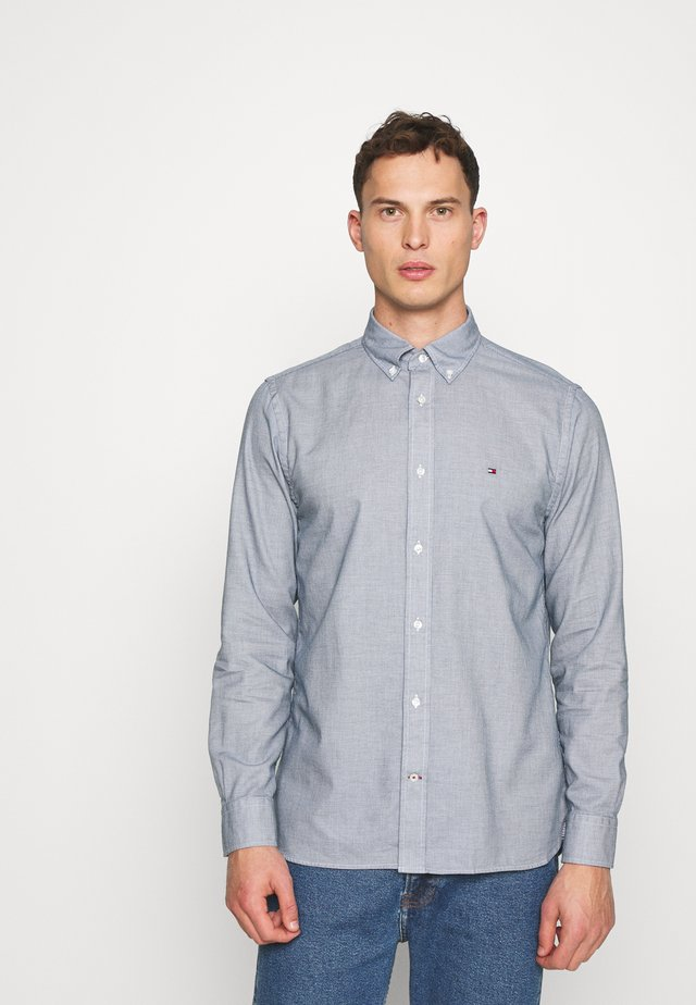 MELANGE DOBBY - Shirt - blue