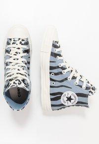 Converse - CHUCK TAYLOR ALL STAR - Baskets montantes - blue slate/black/egret - 1