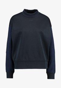 G-Star - PLEAT LOOSE COLLAR - Sweatshirts - mazarine blue - 4