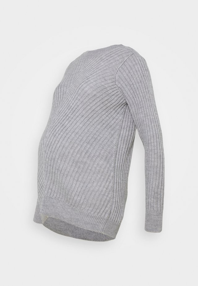 CREW NECK JUMPER - Neule - grey marl