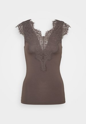 PCILU TOP - Topper - taupe