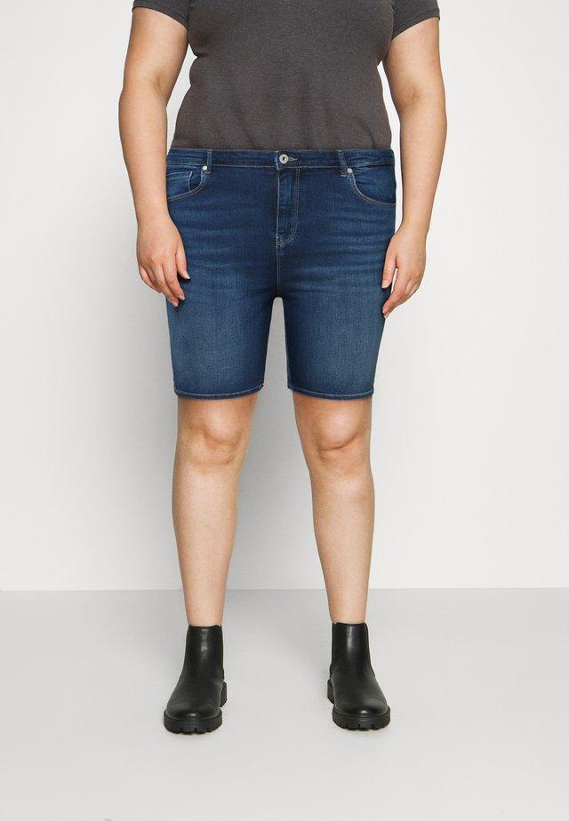 CARLAOLA LIFE - Jeans Shorts - medium blue denim