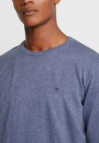 TOM TAILOR - Stickad tröja - vintage indigo blue melange - 5