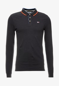 Tommy Jeans - STRETCH LONGSLEEVE  - Piké - black - 4