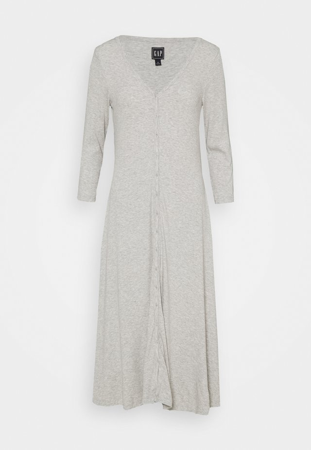 Sukienka dzianinowa - light heather grey