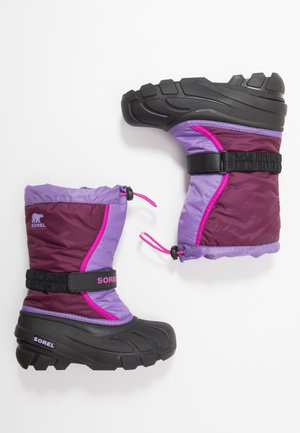 YOUTH FLURRY - Snowboots  - purple dahlia/paisley purple