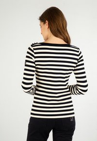Armor lux - ERQUY MARINIÈRE - Long sleeved top - rich navy/nature - 1